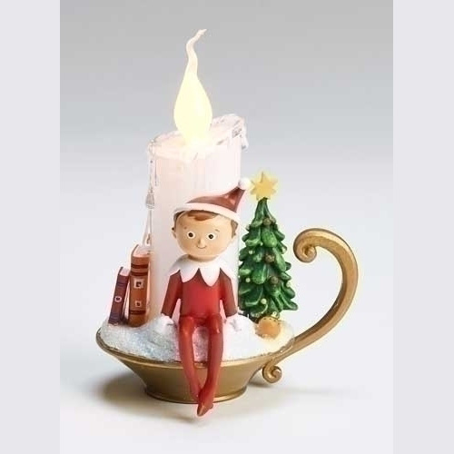 Roman Elf On The Shelf Led Candle Goldfingers Gifts
