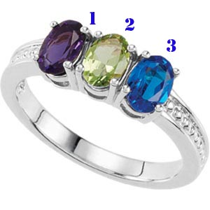 Oval birthstone mothers ring sterling silver 3 stone 71476 oval birthstone mothers ring sterling silver 3 stone 71476 goldfingers gifts aloadofball Image collections
